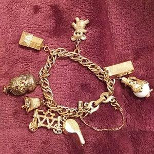 Monet charm bracelet